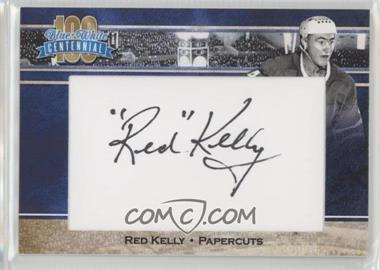 2016-17 President's Choice Blue and White Centennial - Papercuts #REKE - Red Kelly