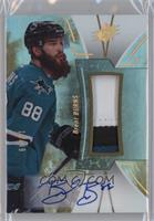 Stars and Legends - Brent Burns #/49
