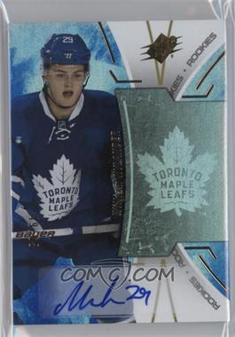 2016-17 SPx - Rookies - Blue Autograph [Autographed] #R-WN - William Nylander /65