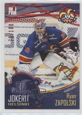 2016-17 Sereal KHL Jokerit Helsinki Collection - [Base] - Red #JOK-BAS-001 - Ryan Zapolski /100