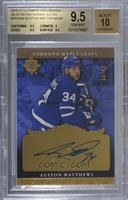 Tier 2 - Auston Matthews /49 [BGS 9.5 GEM MINT]