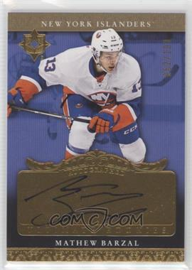 2016-17 Ultimate Collection - 2006-07 Retro Rookie Auto #RRA-MB - Tier 1 - Mathew Barzal /199