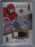 Ultimate Rookies Auto Patch - Sebastian Aho #/49