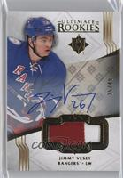 Ultimate Rookies Auto Patch - Jimmy Vesey #/49