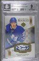 Ultimate Rookies Auto Patch - William Nylander /49 [BGS9MINT]