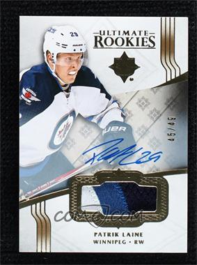2016-17 Ultimate Collection - [Base] - Gold Autographs [Autographed] #159 - Ultimate Rookies Auto Patch - Patrik Laine /49