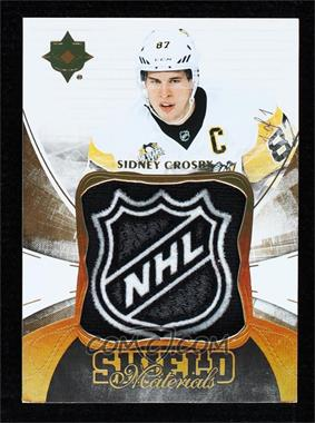 2016-17 Ultimate Collection - [Base] - Shield Patch [Memorabilia] #46 - Sidney Crosby /1