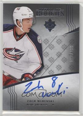 2016-17 Ultimate Collection - [Base] #117 - Ultimate Rookies Autographs Tier 1 - Zach Werenski /299