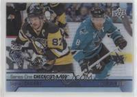 Sidney Crosby, Joe Pavelski