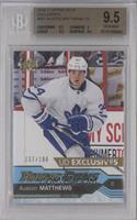 Young Guns - Auston Matthews [BGS 9.5 GEM MINT] #/100