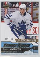 Young Guns - Auston Matthews #/100