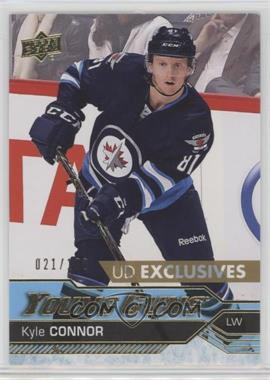 2016-17 Upper Deck - [Base] - Exclusives #212 - Young Guns - Kyle Connor /100