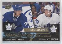 Young Guns - Auston Matthews, William Nylander #/100