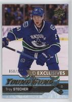Young Guns - Troy Stecher #/100