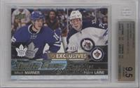 Young Guns - Mitch Marner, Patrik Laine /100 [BGS 9.5]