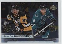 Sidney Crosby, Joe Pavelski