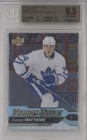 Young Guns - Auston Matthews [BGS 9.5 GEM MINT]