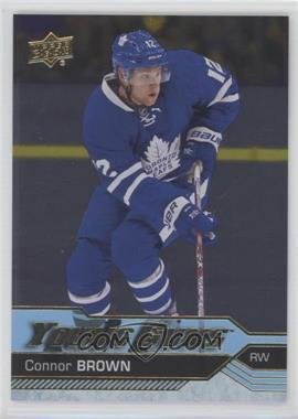 2016-17 Upper Deck - [Base] - Silver Foil #204 - Young Guns - Connor Brown