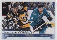 Checklist - Sidney Crosby, Joe Pavelski