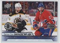 Checklist - David Krejci, Alex Galchenyuk