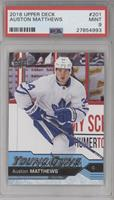 Young Guns - Auston Matthews [PSA 9 MINT]