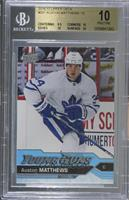 Young Guns - Auston Matthews [BGS 10 PRISTINE]
