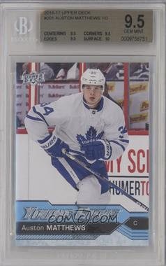 2016-17 Upper Deck - [Base] #201 - Young Guns - Auston Matthews [BGS 9.5]
