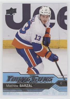 2016-17 Upper Deck - [Base] #458 - Young Guns - Mathew Barzal