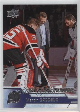 2016-17 Upper Deck - Ceremonial Puck Drop #CPD-7 - Martin Brodeur
