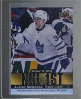 SP Achievement - Auston Matthews [Mint or Better]
