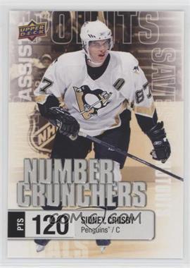 2016-17 Upper Deck - Number Crunchers #NC-2 - Sidney Crosby