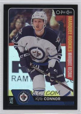 2016-17 Upper Deck - O-Pee-Chee Update - Black Rainbow Foil #676 - Marquee Rookies - Kyle Connor /100