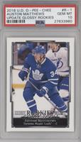 Auston Matthews [PSA 10 GEM MT]