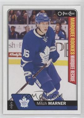 2016-17 Upper Deck - O-Pee-Chee Update #672 - Marquee Rookies - Mitch Marner