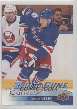 2016-17 Upper Deck - UD Canvas #C105 - Young Guns - Jimmy Vesey