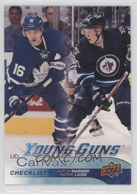 2016-17 Upper Deck - UD Canvas #C120 - Young Guns - Mitch Marner, Patrik Laine
