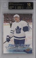 Young Guns - Auston Matthews [BGS 10 BLACK]
