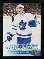 Young Guns - Auston Matthews [Gem Mint]