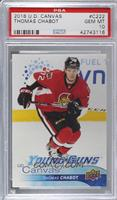 Young Guns - Thomas Chabot [PSA 10 GEM MT]