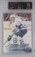 Young Guns - Kasperi Kapanen [BGS 10 BLACK]