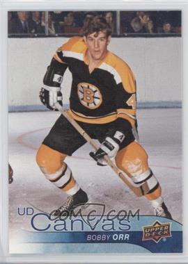 2016-17 Upper Deck - UD Canvas #C241 - Retired Stars - Bobby Orr