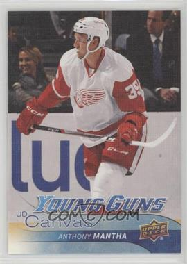 2016-17 Upper Deck - UD Canvas #C92 - Young Guns - Anthony Mantha