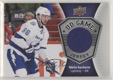 sports shoes 1bf77 3e21b 2016-17 Upper Deck - UD Game Jersey #GJ-NK.2 - Nikita Kucherov
