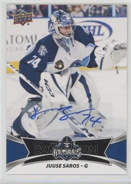 2016-17 Upper Deck AHL - Autographs #87 - Juuse Saros
