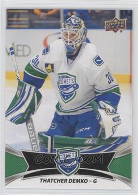 2016-17 Upper Deck AHL - [Base] - Green #103 - SP - Thatcher Demko