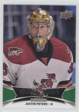 2016-17 Upper Deck AHL - [Base] - Green #93 - Justin Peters