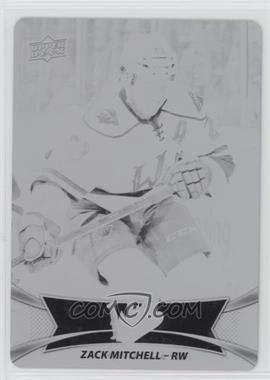 2016-17 Upper Deck AHL - [Base] - Printing Plate Black #26 - Zack Mitchell /1
