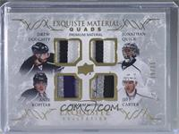 Drew Doughty, Jonathan Quick, Anze Kopitar, Jeff Carter [Noted] #/25