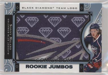 2016-17 Upper Deck Black Diamond - Rookie Team Logo Jumbo Manufactured Patches #RTL-SM - Sonny Milano
