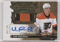 Hot Prospects Auto Patch - Ivan Provorov #97/135